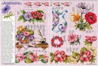 """ru / tymannost - Альбом """"Encyclopedie du point de croix ( Fleurs arbres et feuilles )"""" Cross Stitch Rose, Russia, Napkins, Gallery, Tableware, Border Tiles, Dots, Flowers, Leaves"""