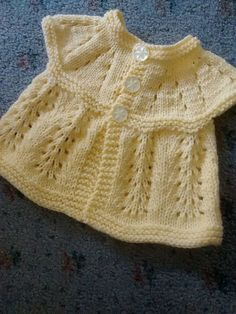 Baby Knitting Patterns Men Ravelry: Project Gallery for all-in-one baby top pattern by marianna mel Knitting Dolls Clothes, Knitted Baby Clothes, Baby Doll Clothes, Baby Cardigan Knitting Pattern Free, Knitted Baby Cardigan, Baby Knitting Patterns, Free Baby Patterns, Knit Baby Dress, Baby Girl Sweaters