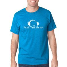 Feel The Bern Turquoise Tee