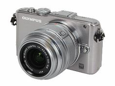 Olympus PEN E-PL3 12.3MP Camera w/Lens $199.99