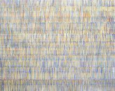 Nikola Dimitrov, Komposition, 2011,Pigmente, Bindemittel auf Leinwand, 200 x 250 cm