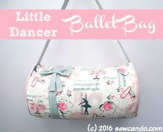 Sew Can Do  Tutorial Time  The Little Dancer Ballet Bag + Fabric Giveaway! df44a2eca47f8