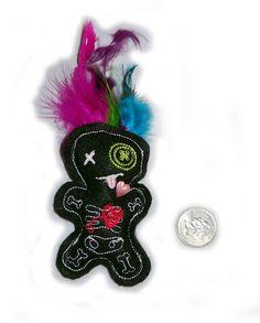 Mardi Voodoo Doll. $7.00, via Etsy.