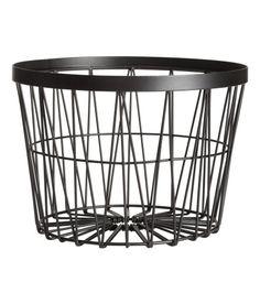 H&M korg svart