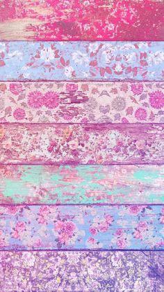 Imagen de wallpaper, flowers, and background papier paint, cute backgrounds, vintage phone