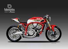 "Motosketches: BIMOTA IB-1 ""SAKEM"" Powered by INDIAN"
