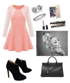 """""""Untitled #15"""" by jaysen-martin on Polyvore featuring Giuseppe Zanotti, Yves Saint Laurent, Chamilia, Accessorize and Bobbi Brown Cosmetics"""