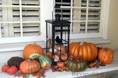 25 Best Ideas for Outdoor Fall Decor | Holidays