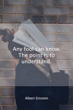 Albert Einstein, The Fool, Cards Against Humanity, Words, Day, Quotes, Instagram, Quotations, Qoutes