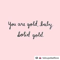 Solid gold.  #Repost @fullcupofselflove . . . . #plussize #loveyourself #selflove #bopo #lovetheskinyourein #beautybeyondsize #effyourbeautystandards #bodypositive #plusisequal #fullfigured #beautyatanysize #celebratemysize #honormycurves #empoweringwomen #iloveme #loveyourself #youarebeautiful #nobodyshame #youareenough #goldenconfidence #plussizefashion
