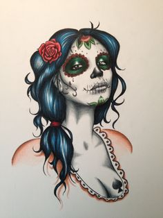 day of the dead drawings | Day of the dead by *Pete70003 on deviantART