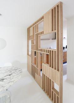 Living Room Partition Design, Room Partition Designs, Diy Bedroom Decor, Diy Home Decor, Home Interior Design, Interior Decorating, Apartment Interior, Modern Room, Living Room Designs