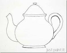 Resultado de imagen para teapot drawing