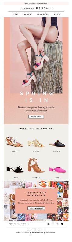 Website Layout, Web Layout, Layout Design, Web Design, Email Layout, Email Newsletter Design, Email Design Inspiration, Fashion Banner, Email Marketing Design