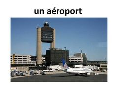 Un aéroport.>
