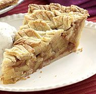 Apple Pie Covered with Leaves  This is what I make every year. Looks like a lot of hard work but super easy!