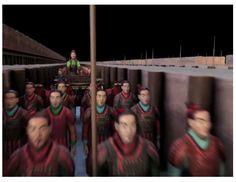 A la muerte del 1er emperador Chino , enterraron un ejército de soldados de barro para proteger su tumba.     VIDEO Recreación de National Geographic de esa misteriosa celebración: Soldados de TerraCota.