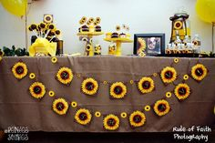and now I am onto the sunflower theme.