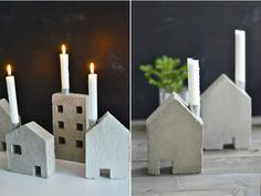 Concrete Candle Holder by Sinnenrausch / DesignVillle.cz