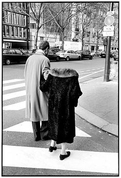 François-Marie BANIER :: Boulevard Raspail, Paris, January 2005