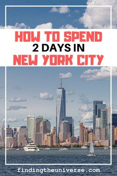 Detailed itinerary for 2 days in New York. Includes what to see in New York over 2 days, plus tips on getting around, accommodation and saving money! Usa Travel Guide, Travel Usa, Travel Guides, New York Vacation, New York City Travel, York Things To Do, City Pass, Walking Tour, Places To Go