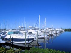 Yachts at Harbortown Marina, Fort Pierce, FL