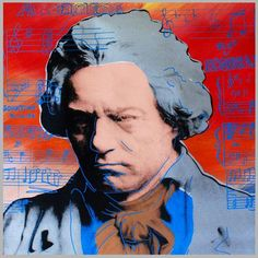 "Limited Edition Print ""Beethoven"" by Steve Kaufman"