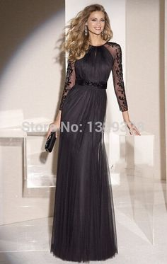 Cheap dresses debenhams, Buy Quality dress foam directly from China dress wholesalers Suppliers: Custom Made Sexy Chiffon A Line Cap Sleeves Floor Length Shiny Beads Crystle Evening Dresses 2015 Long Prom Party Dresse