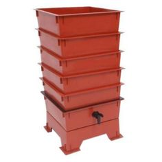 The Worm Factory® 5-Tray Worm Composter - Terra Cotta ($100)