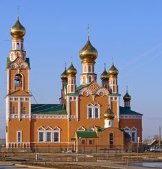 Orthodox church Atyrau, Kazakhstan