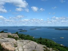 Champlain Mountain summit / Frenchman's Bay - Acadia