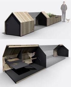 Urban Farm Kit: Modular Chicken Coops, Planters & Benches   Urbanist - Panissue Share