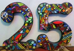 LARGER Custom Made Stained Glass Mosaic by WiseCrackinMosaics, $38.00