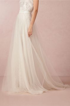 Elsa Tulle Skirt in Bride Wedding Dresses Embellished at BHLDN