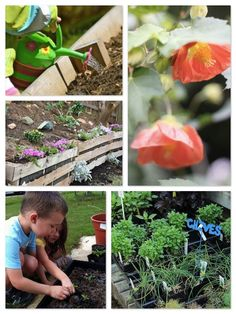 {Smile, it's the first day of Spring} DIY inspiration and simple ways to get the kids in the garden
