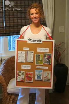 A Human Pinterest Board - Halloween Costume Idea