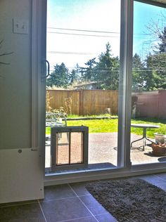 How to install a dog door in a glass door read more httpwww the plexidor glass conversion pet door installation process is a fast clean and simple process with one of our dealer installers and dog door sliding planetlyrics Images