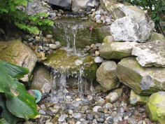 Pondless Waterfall - Raymond Brothers Landscaping