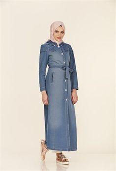 Çıkarılabilir Kapüşon  Süs Cepli Açık Mavi Pardesü Duster Coat, High Neck Dress, Shirt Dress, Jackets, Shirts, Dresses, Fashion, Turtleneck Dress, Down Jackets