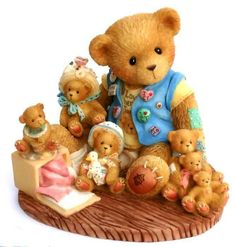 Heidi´s Cherished Teddies Galerie: Collecting CHERISHED Friends Along The Way - Boy With Teddies (759511)