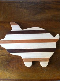 Wooden Pig Cutting Board Wooden Serving Platter