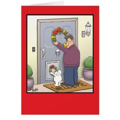 Embrace a mix of Ha Ha Ha and Ho Ho Ho with funny Christmas cards from Zazzle. Spread holiday cheer with holiday humor tailored for your loved ones. Christmas Jokes, Christmas Cartoons, Christmas Paper, Christmas Dog, Merry Christmas, Christmas Animals, Christmas Christmas, Christmas Ideas, Christmas Wreaths