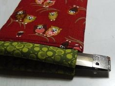 Crafty Ady: Making a glasses case using an internal flex frame