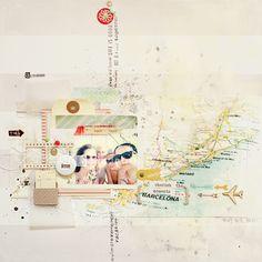 I {lowe} SCRAP :: 'POPs OF' & 'Summer Dreamer' :: by Anna-Maria Wolniak