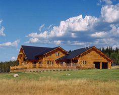 montana log homes | custom design montana log homes will provide 5 sets of plans with the ...