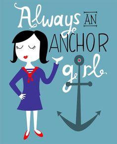 Forever i'll be.. Always an Anchor girl.