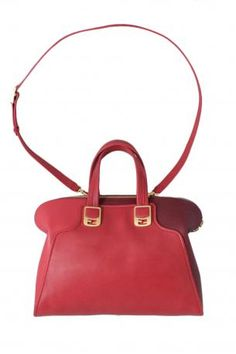 fded1a8b032 Fendi 2bag duffle bag Chameleon. Hand or shoulder leather bag in three  shades of red