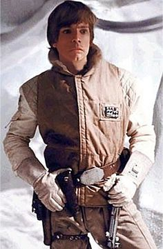 Mark Hamill as Luke Skywalker from Star Wars The Empire Strikes Back