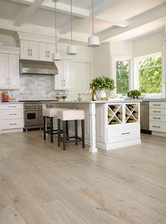 2 Tone Hardwood Flooring - Bergamo Mist French Oak