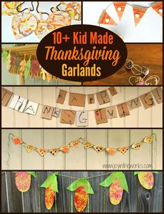 Crafts on Thanksgivi